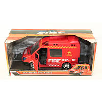 """Автобус """"Скорая, милиция,пожарная"""" в коробке"""