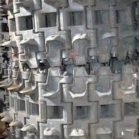 Полуцепь гусеницы правая/левая Т4.34.100-02СБ/200-02СБ