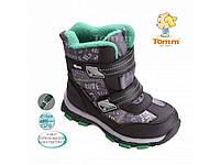 Ботинки зимние 1606C, 31р. (19,5см) TOM.M