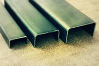 Швеллер гнутый равнополочный 100х40х5 ст.3пс ГОСТ 8278-83, длина 2,0-6,05