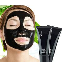 Чёрная маска для лица