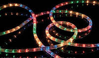 Гирлянда дюралайт 10 метров уличная (белая, синяя, мульти,красная, зеленая)