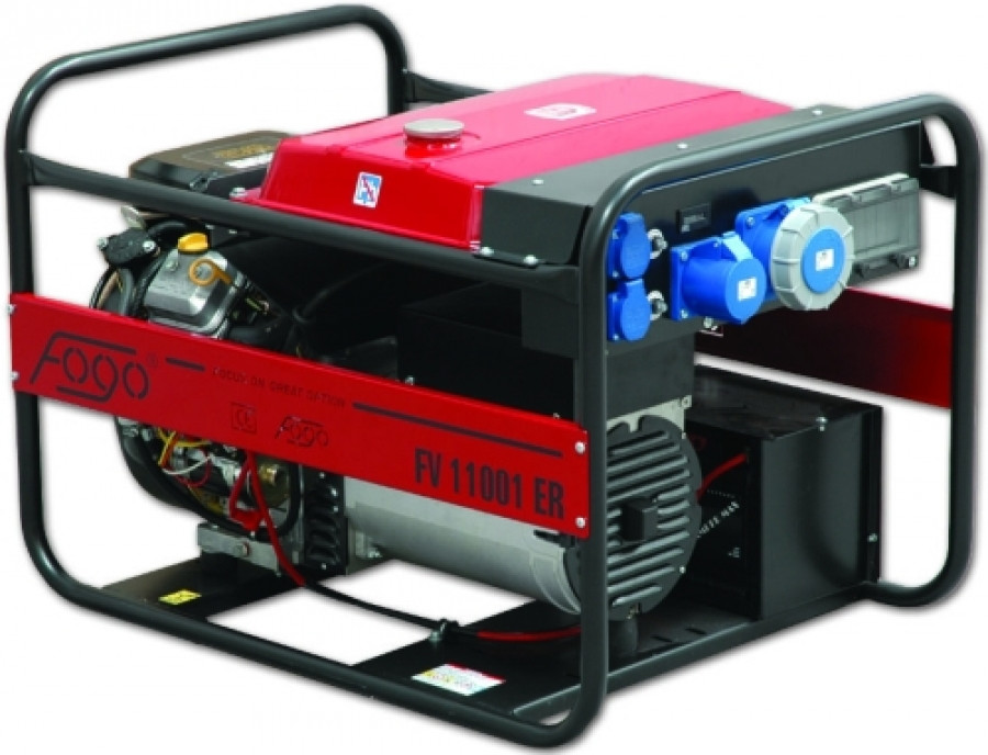 Бензиновый генератор Fogo FV 11001 ER (со специальным стабилизатором напряжения)