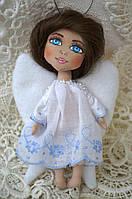 Ангелочек. Текстильная куколка.