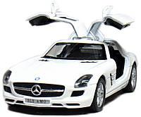 """Машина Kinsmart """"MERCEDES BENZ SLS"""", KT5349W, фото 1"""