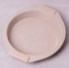 Форма для выпечки с мраморным покрытием и силиконовыми ручками (35*32*6см)  Kamille 6028