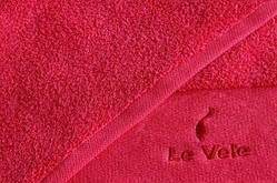 Полотенце Le Vele баня красное