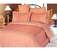 Комплект жаккардового постельного белья Le vele beatrice-teraccota