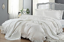 Комплект постельного белья с покрывалом  Gellin Home (Yasemin)