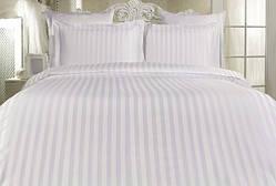 Белое постельное белье Le vele отель серия