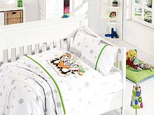 Комплект постельного  детскую кроватку