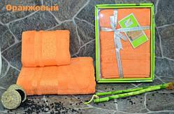 Набор бамбуковых полотенец (лицо+баня)