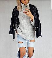 """Стильная куртка косуха """"Shanna"""" из эко-кожи (2 цвета)"""
