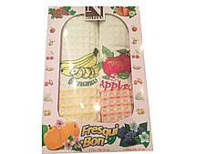 Полотенца для кухни вафельные фрукты