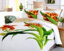 Комплект постельного белья Le vele полуторный Aliza-white