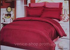 Комплект постельного белья Le Vele silk-satin jakkaranda-burgundy