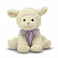 Мягкая игрушка Melissa Doug Застенчивый ягненок, 23 см MD7400