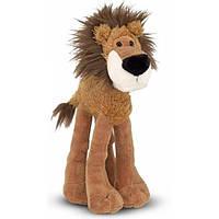 Мягкая игрушка Melissa Doug Длинноногий Лев, 32 см MD7436