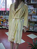 "Шикарный бамбуковый халатик лимонного цвета тм ""NUSA"""