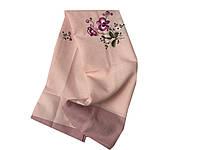 Скатерть с вышивкой на раскладной стол 150-220 см , фото 1