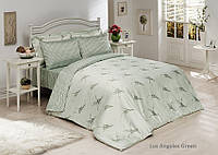 Комплект постельного белья Le Vele bamboo series Los Angeles (green), фото 1
