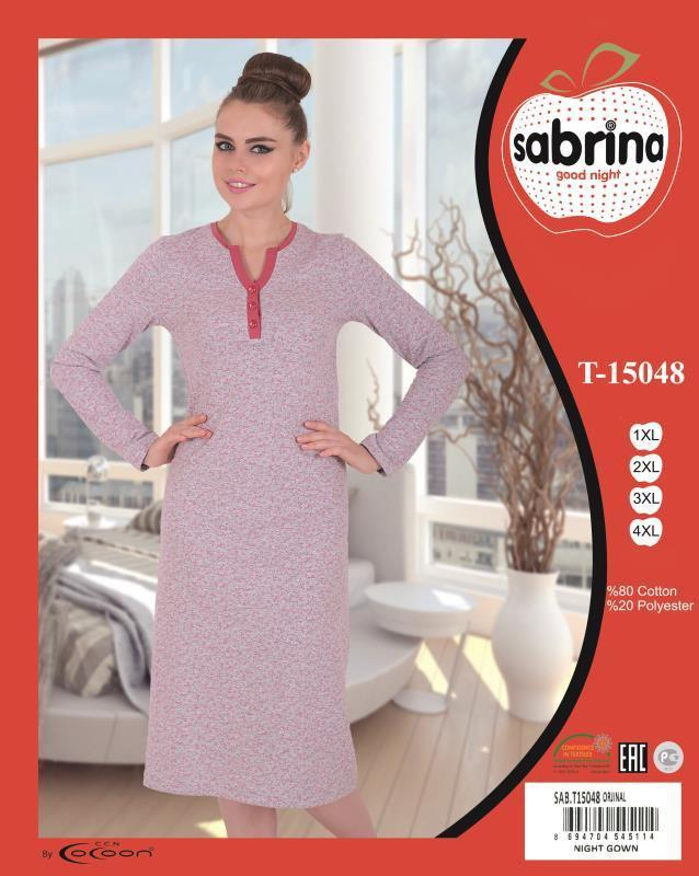 Ночная рубашка тм Sabrina (батал)