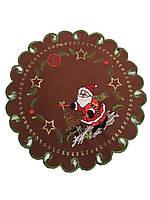 Різдвяна серветка діаметр 30 см