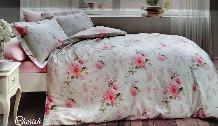 Комплект постельного белья Tivolyo Home евро размера Orhidea
