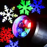LED проектор 4 картриджа 16 узоров, фото 7