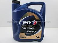 Масло моторное ELF Evolution Fulltech FE  5л. (с сажевым фильтром кроме 2,2cdi)