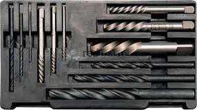 Экстракторы и сверла по металлу HSS 12шт YATO YT-0591