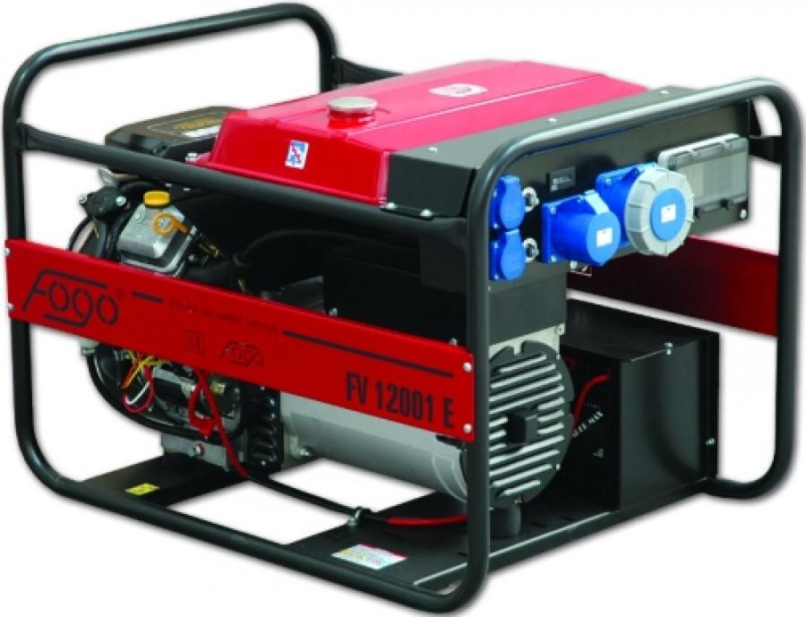 Бензиновый генератор Fogo FV 12001 ER