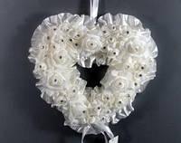 Украшение свадебного зала Сердце