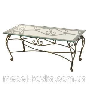 Кованый   стол со столешницей 39