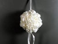 Свадебная подвеска Шар из роз