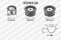Рем. Комплект ГРМ: ремень + ролики SNR KD453.06