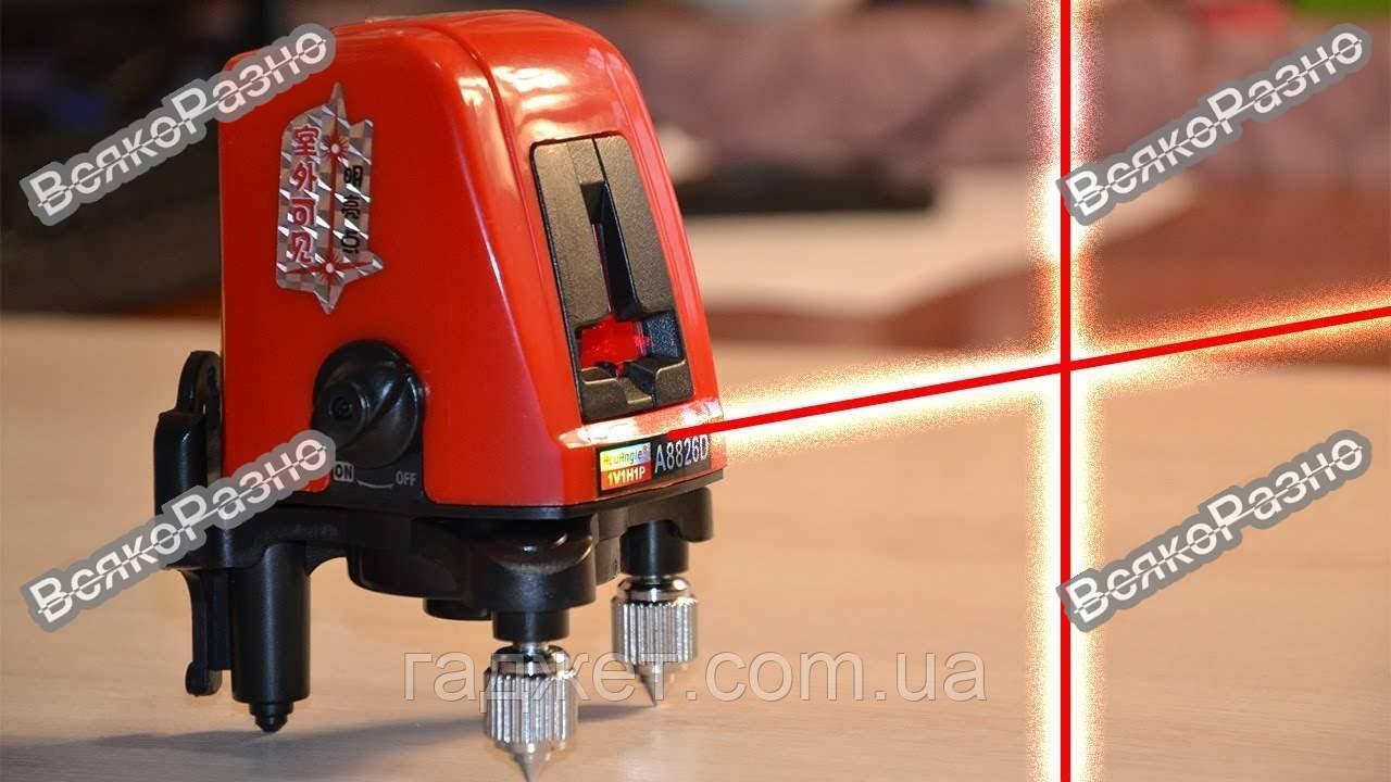 Лазерный уровень нивелир A8826D