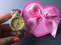 Часы omega (женские круглые) (реплика)