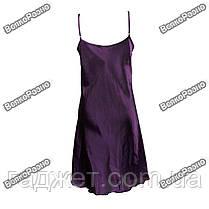 Женская ночная рубашка фиолетового цвета., фото 3