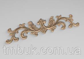Горизонтальный декор 69 деревянная накладка - 285х70 мм, фото 2