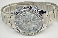 Женские часы ROLEX Diamonds Silver, фото 1