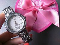 Часы omega (женские серые) (реплика)