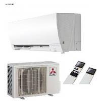 Тепловой насос Воздух-Воздух MITSUBISHI ELECTRIC (3.2 кВт)  MSZ-FH25VE/MUZ-FH25VEHZ ZUBADAN, фото 1