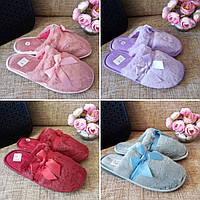 Домашние махровые тапочки длинный ворс 4 цвета,женские тапочки, тапочки для девочки,обувь для дома мятно-серый, махра, 39