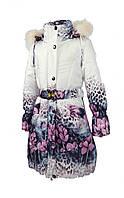 Зимнее пальто 1206 на 100% холлофайбере размеры 122 и 128, фото 1