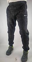 Штаны спортивные мужские под манжет зимние Брюки спортивные с начесом, фото 2