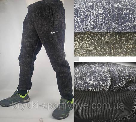 Штаны спортивные Nike манжет - зима, фото 2