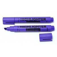Маркер Centropen текстовый 1-4,6 мм клиновидный фиолетовый