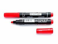 Маркер CENTROPEN Permanent 8576 1-4,6 мм клиновидный красный