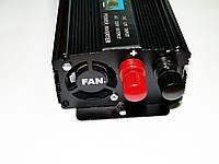 Инвертор преобразователь напряжения Power Inverter UKC 12V-220V 2000W Black, фото 3
